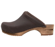 CHRISSY Clogs antique brown