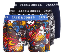 JACBATH 3 PACK Panties burnt ochre