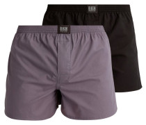 2 PACK Boxershorts black/grey