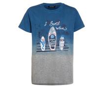 T-Shirt print - mittelgrau