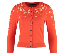 Strickjacke orange