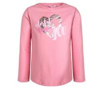Langarmshirt sachet pink/rose