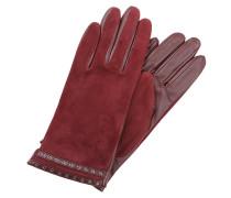 Fingerhandschuh - granat