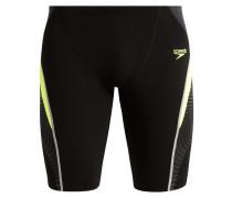 SPLICE JAMMER Badehosen Pants black/fluo yellow/oxid grey