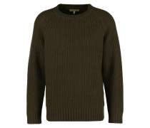 BYRNE - Strickpullover - brown military