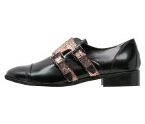 TRENT Slipper cordoban black/black/peach