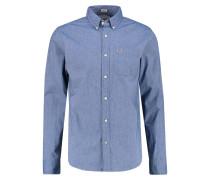 Hemd blue poplin solid