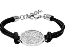 Armband - black/silver coloured