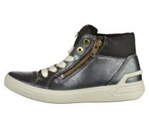Sneaker high black/limestone