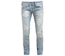 Jeans Slim Fit ripped and repaired