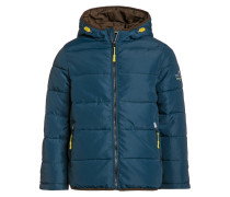 Winterjacke perfect even blue