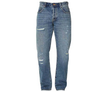 Jeans Straight Leg - light-blue