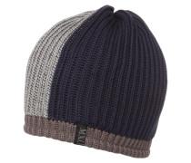 Mütze - navy/grau