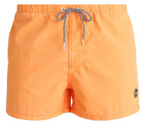 Badeshorts tropical orange