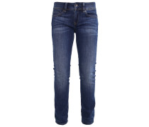 MIDGE SADDLE MID STRAIGHT - Jeans Straight Leg - cerro stretch denim