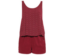 Jumpsuit tawny port red