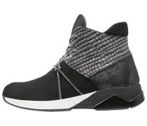 Sneaker high schwarz