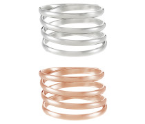 2 PACK Ring multicolor