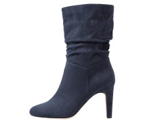 High Heel Stiefel - dark blue