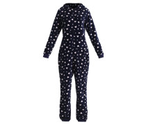 Pyjama dark blue/white