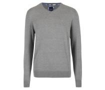 Sweatshirt - silbergrau melange