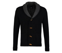 GABEL - Strickjacke - black