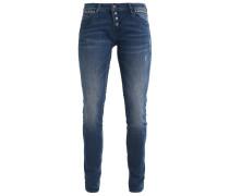 SERENA Jeans Slim Fit deep shadded stud