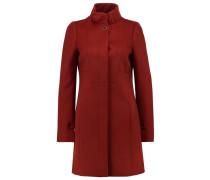 Wollmantel / klassischer Mantel rost