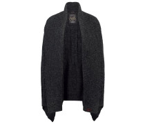 HADEN - Strickjacke - charcoal marl