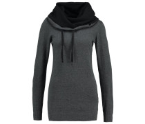 Strickpullover - grey/black