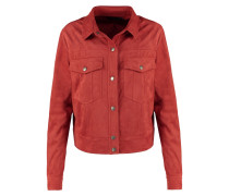 Kunstlederjacke red
