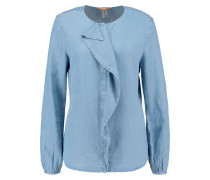 CONFET - Bluse - blue denim