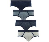 4 PACK - Slip - blue