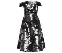 LUXE Cocktailkleid / festliches Kleid metallic