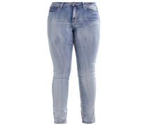 JRFIVE - Jeans Skinny Fit - medium blue denim