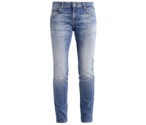 KATEWIN Jeans Straight Leg blue denim