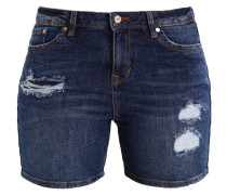 CAJSA - Jeans Shorts - mid stone wash denim