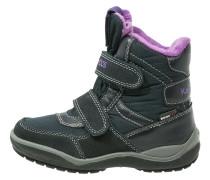 KANGA - Snowboot / Winterstiefel - dark navy/violet