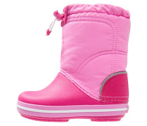 CROCBAND LODGEPOINT Stiefel candy pink/party pink