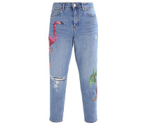 MOM - Jeans Relaxed Fit - indigo
