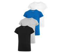 4 PACK TShirt basic blue