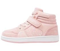 Sneaker high light pink