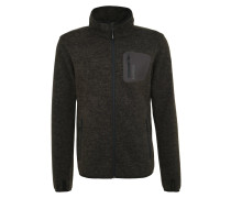 TERAMO Fleecejacke dark grey melee