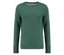 LOKE - Strickpullover - dark green