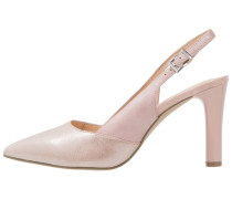 Pumps rose metallic