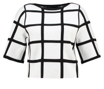 Sweatshirt black/ivory
