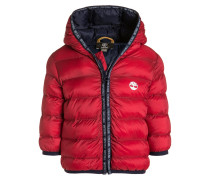 Winterjacke - team red