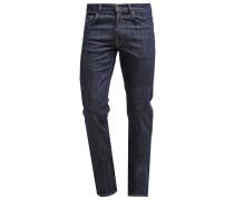 TYLER CONNECTICUT Jeans Straight Leg dark blue broken