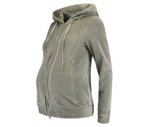 Sweatjacke - paloma|gray