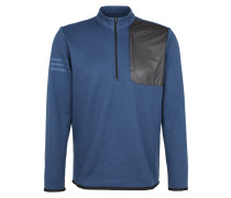 Fleecepullover mineral blu heather